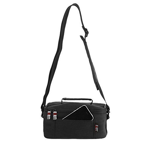 Docooler Storage Carrying Case Portable VR Glasses Cover Bag For Virtual Reality Headset VR All-in-one Machine 3D Glasses Headphone Mini Projector Smart Phone Black from Docooler