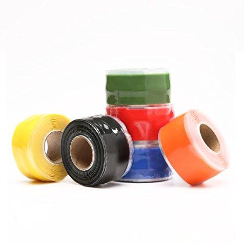Waterproof Pipe Tape - Waterproof Tape For Pipes - KC-YS8018 Gardening Universal Tape Useful Waterproof Silicone Hose Pipe Wire Repair Tape - Red ( Waterproof Hose Tape ) by Unknown (Image #4)