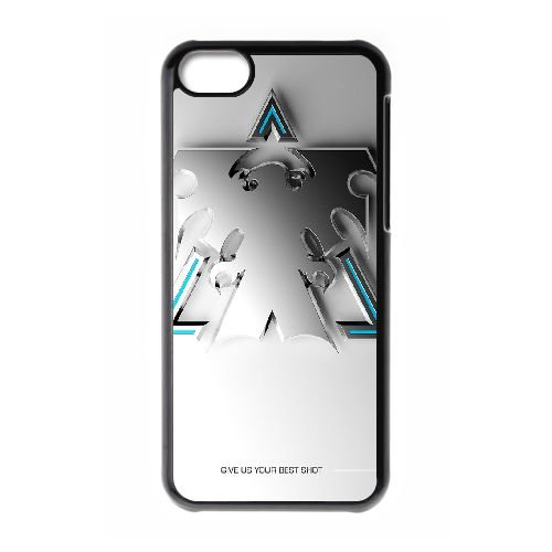 Starcraft Ii 4 coque iPhone 5c cellulaire cas coque de téléphone cas téléphone cellulaire noir couvercle EEECBCAAN00900