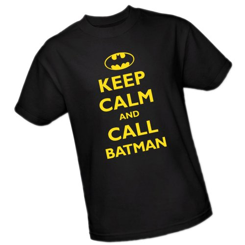 "Batman+Retro+Shirts Products : ""Keep Calm And Call Batman"" -- Batman Youth T-Shirt"
