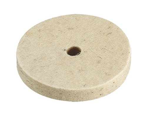 Wolfcraft 2130000 Felt Buffing Pad 10 mm Diameter 75 x 10 mm