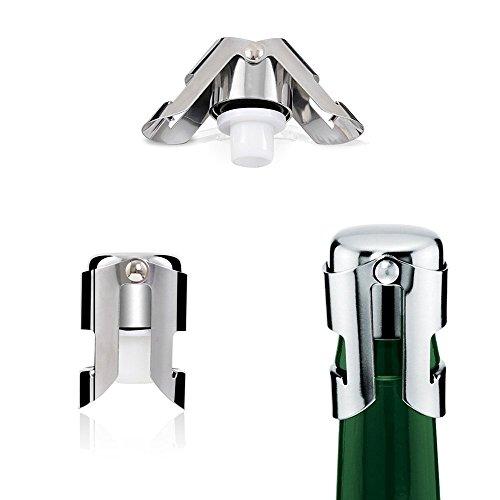 Dsmile Super Seal Champagne Stopper,Set of 5 by Dsmile (Image #1)