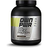 OWN PWR 100% Whey Protein Isolate Powder, Gourmet Chocolate, 5 lb