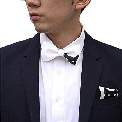 YAOSHI-Bow tie/tie Corbatas y Pajaritas para Corbata de Lazo para ...