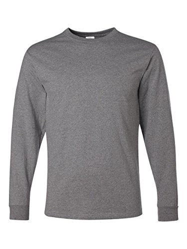 eight Blend 50/50 Long Sleeve T-Shirt (Oxford, XX-Large) ()