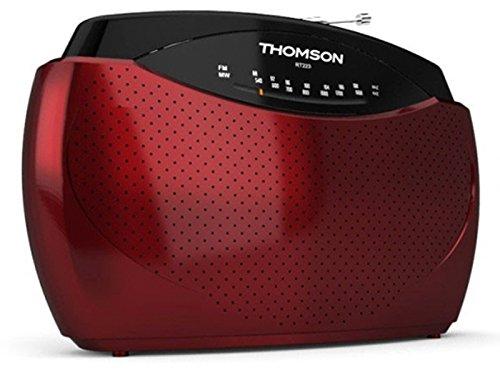 1 opinioni per Thomson RT223 Radioregistratore, Rosso