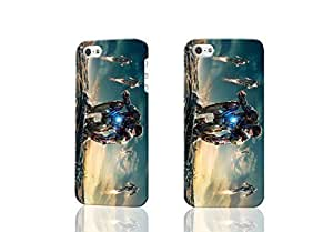 Iron Man 3 New 3D Rough Case Skin, fashion design image custom , durable hard 3D case cover for iPhone 5 5S , Case New Design By Codystore