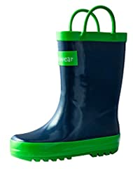 Oakiwear Kids Rubber Rain Boots with Easy-On Handles are made with children's outdoor adventures in mind. Whether your child is on a hunting or camping trip, fishing, or even just playing outside in the rain, these breathable, waterproof boot...