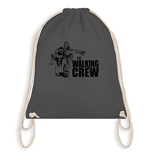 Shirtracer JGA Junggesellenabschied - The Walking Crew - Zombie JGA - Turnbeutel I Gym Bag Dunkelgrau Mf0MW0