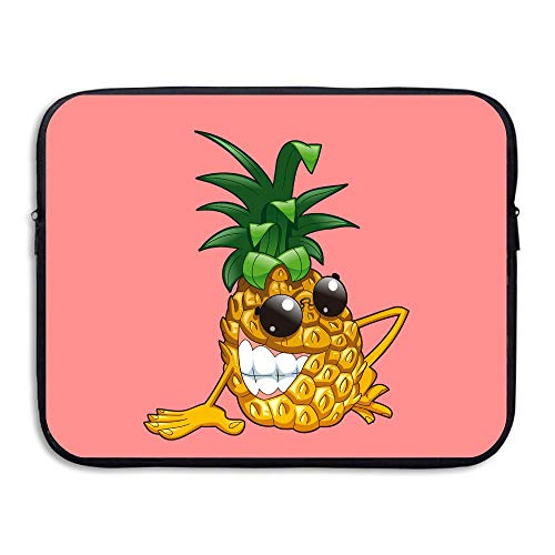 Water-resistant Laptop Bags Cool Evil Pineapple Ultrabook Briefcase Sleeve Case Bags 13 Inch ()