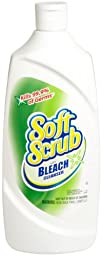 Dial 1670927 Soft Scrub with Bleach, 36oz Bottle (Pack of 6)