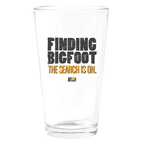 Finding Bigfoot The Search is On Drinking Glass