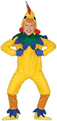 Guirca - Disfraz de pollito, para niños de 3-4 años, color ...