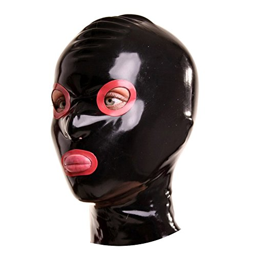 hood with eye and mouth holes - 8