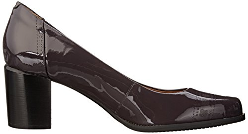 Bomba Clarks Tarah Plataforma Sofia Purple/Grey Patent Leather