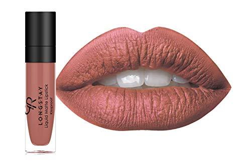 Golden Rose Long Wearing LONGSTAY Liquid Matte Lipstick (16 - High Tea)