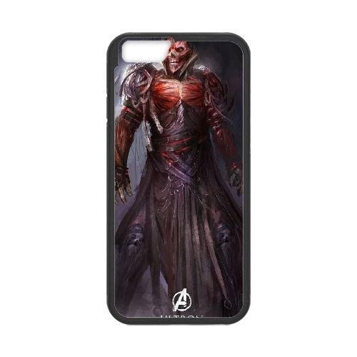 Avengers Age Of Ultron coque iPhone 6 4.7 Inch Housse téléphone Noir de couverture de cas coque EBDOBCKCO12057
