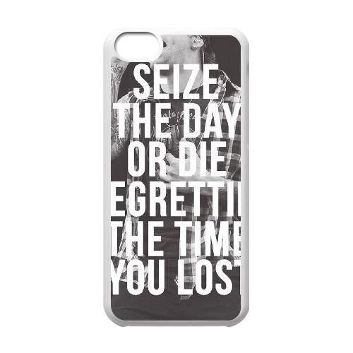 Avenged Sevenfold coque iPhone 5C Housse Blanc téléphone portable couverture de cas coque EBDOBCKCO12761