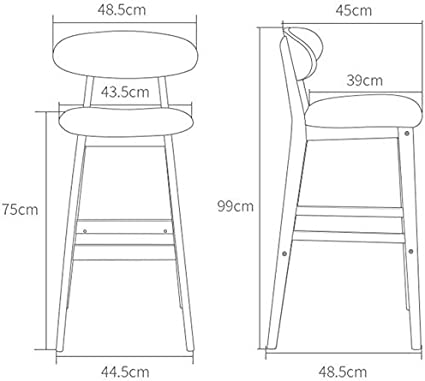 Amazon.com: Swivel Barstool Chairs with Back Barstools Bar ...