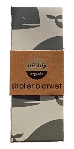Zebi Organic Stroller Blanket - 3