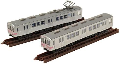 トミーテック ジオコレ 鉄道コレクション 福島交通 7000系 花もも 2両セット ジオラマ用品 (メーカー初回受注限定生産)