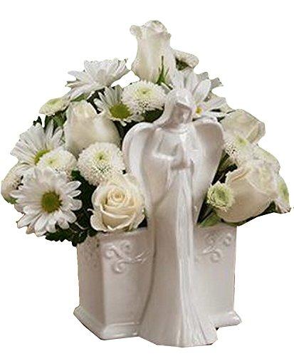 Napco Ceramic Angel Rectangular Planter