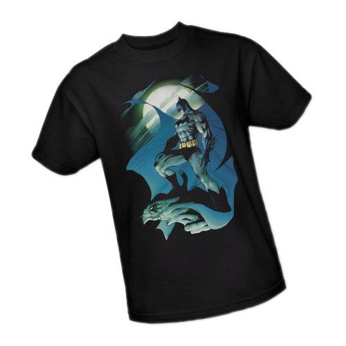 Glow Of The Moon -- Batman Adult T-Shirt, X-Large ()