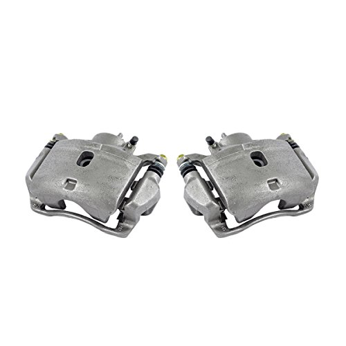 CKOE00937 [ 2 ] FRONT Premium Grade OE Semi-Loaded Caliper Assembly Pair Set