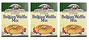 Maple Grove Farms All Natural Belgian Waffle Mix, 24 ounce (Pack of (Maple Grove Farms Waffle Mix)