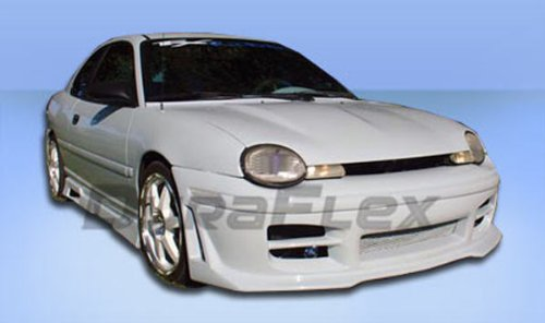 - Duraflex Replacement for 1995-1999 Dodge Neon R34 Front Bumper Cover - 1 Piece