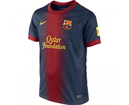 eebbf454d0c Nike Men s Replica Jersey FC Barcelona Home  Amazon.co.uk  Sports   Outdoors