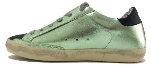 golden goose - Zapatillas para mujer verde Verde