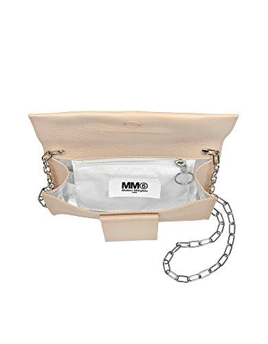 Mm6 Maison Margiela Mujer S54WF0012SY0232219 Rosa Cuero Bolso De Hombro