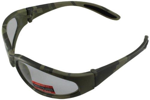 Global Vision Safety Glasses (Digital Camo Frame /Clear - Camo Digital Sunglasses