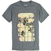 T-Shirt Estampada Infantil Masculino Verde Musgo