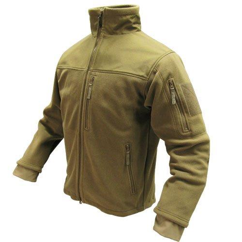 Condor Micro Fleece Jacket (Coyote Tan, Large) by Condor Outdoor