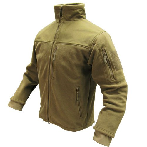 Condor Micro Fleece Jacket (Coyote Tan, X-Large) (Fleece Parka)