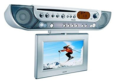 Philips AJL700 Under-cabinet LCD TV/DVD Combo