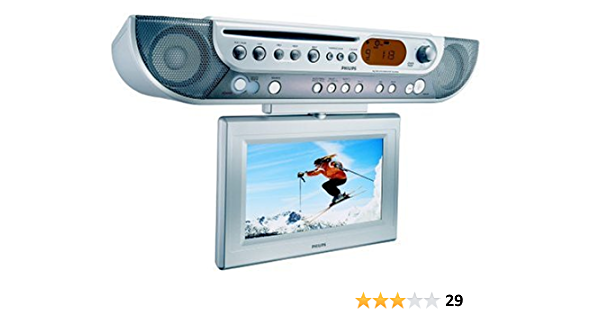 Amazon Com Philips Ajl700 Under Cabinet Lcd Tv Dvd Combo Electronics