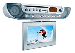 kitchen tv radio under cabinet philips ajl700 cabinet lcd tv dvd combo 22085