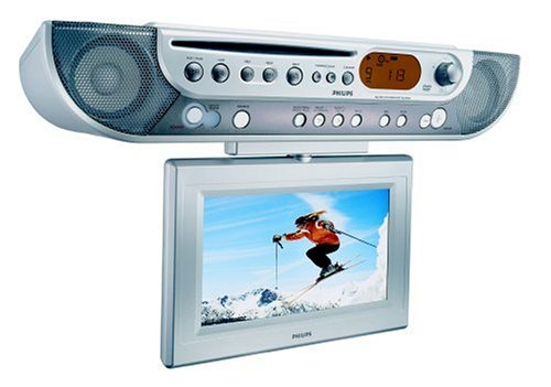 (Philips AJL700 Under-cabinet LCD TV/DVD Combo)