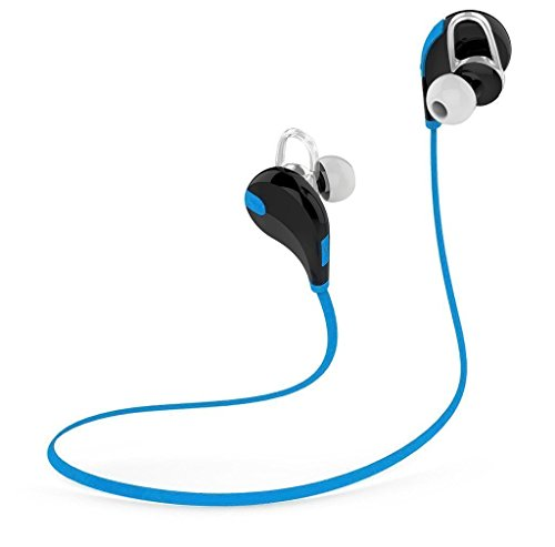 Newest Bluetooth 4.1 Portable Earbuds Headphones Wireless Stereo Sports Headsets With microphone for Iphone Android cellphone, Samsung Galaxy