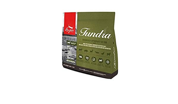 Orijen Pienso Gatos Tundra Cat - 340GR: Amazon.es: Productos para mascotas