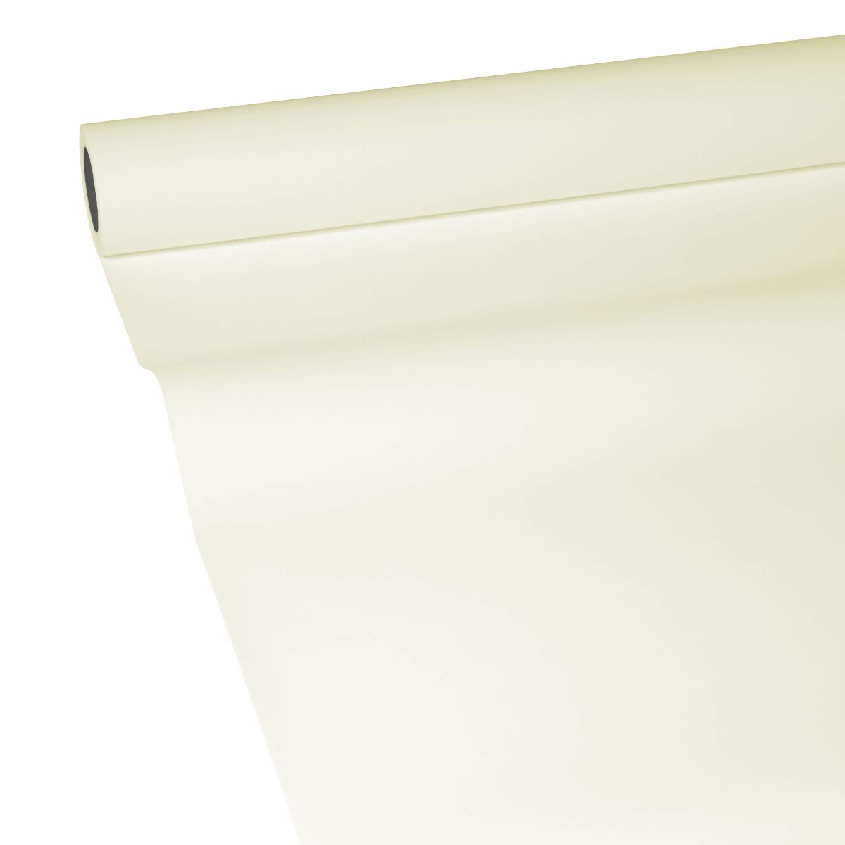JUNOPAX 50m*0,20m Papier Tischband Champagner-Beige