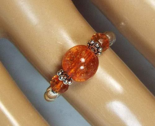 Buy orange tourmaline rings