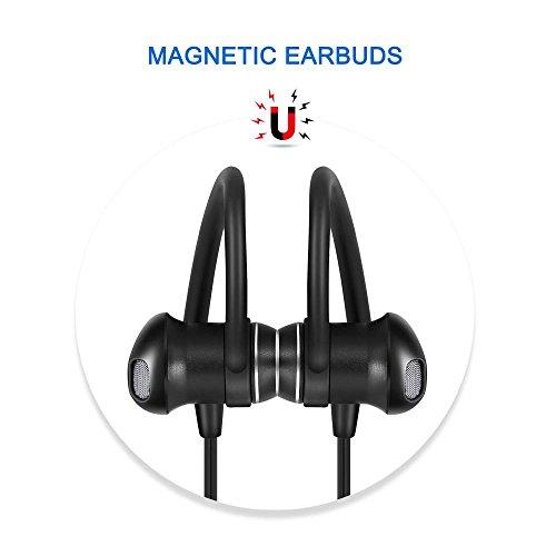 Bluetooth Headphones Sweatproof Wireless Headset Sports Earp