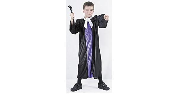 JUGUETILANDIA Disfraz Juez Niño Talla S: Amazon.es: Juguetes y juegos