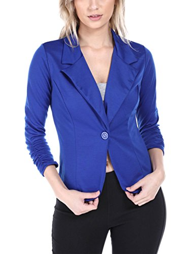 Brosis Women's Casual Office Knit Jacket, Made in USA (1XL, (Ladies Casual Jackets)