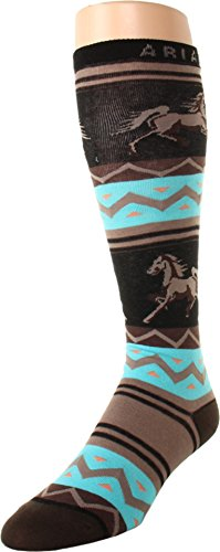 Ariat Women's Apache Knee High Socks,Multi Color,One Size
