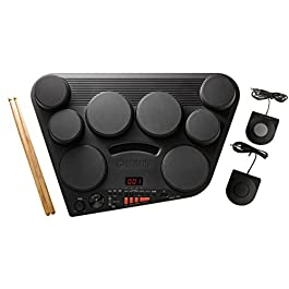 Yamaha DD75 Portable Digital Drums with 2 Pedals and Drumsticks – Power Adapter sold separately